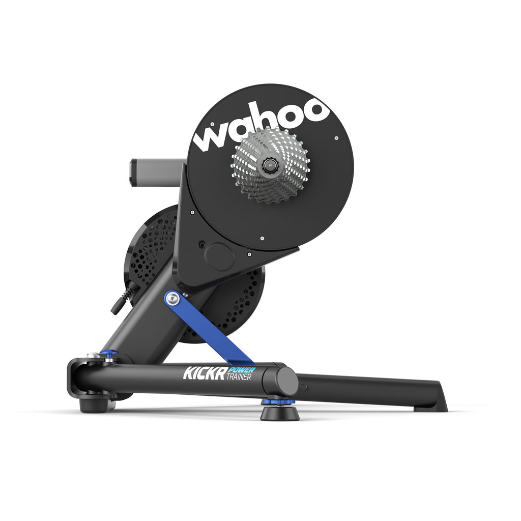 Wahoo KICKR bike trainer product against white background