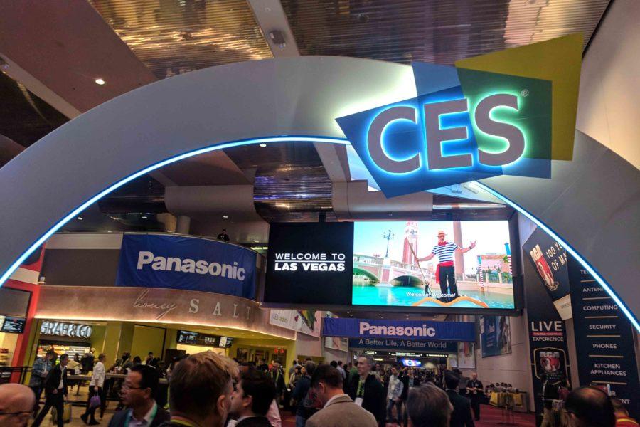 Entrance to CES 2019 tech event