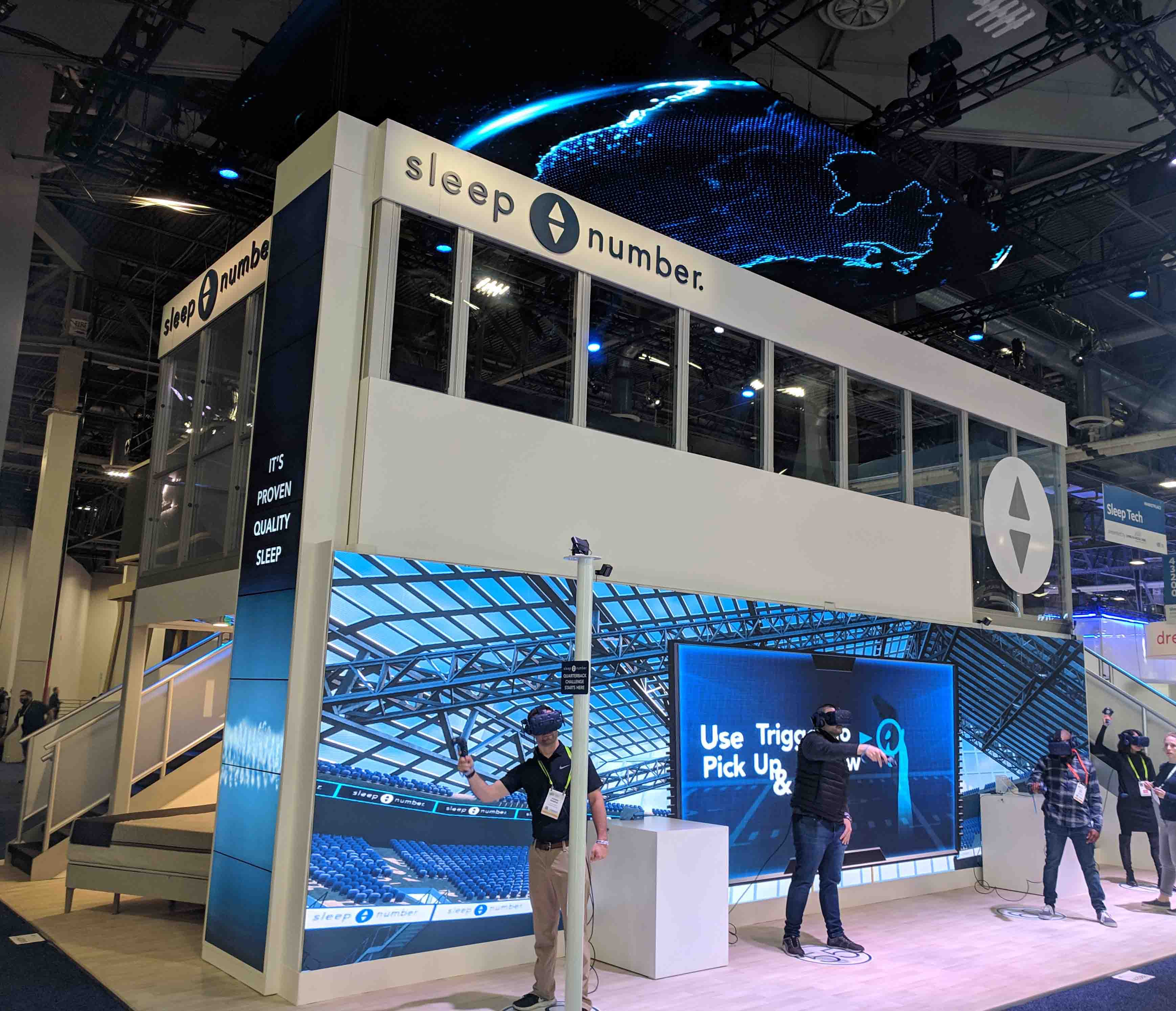 The Tech is New, but CES 2019 Is Still About the Visual Experience