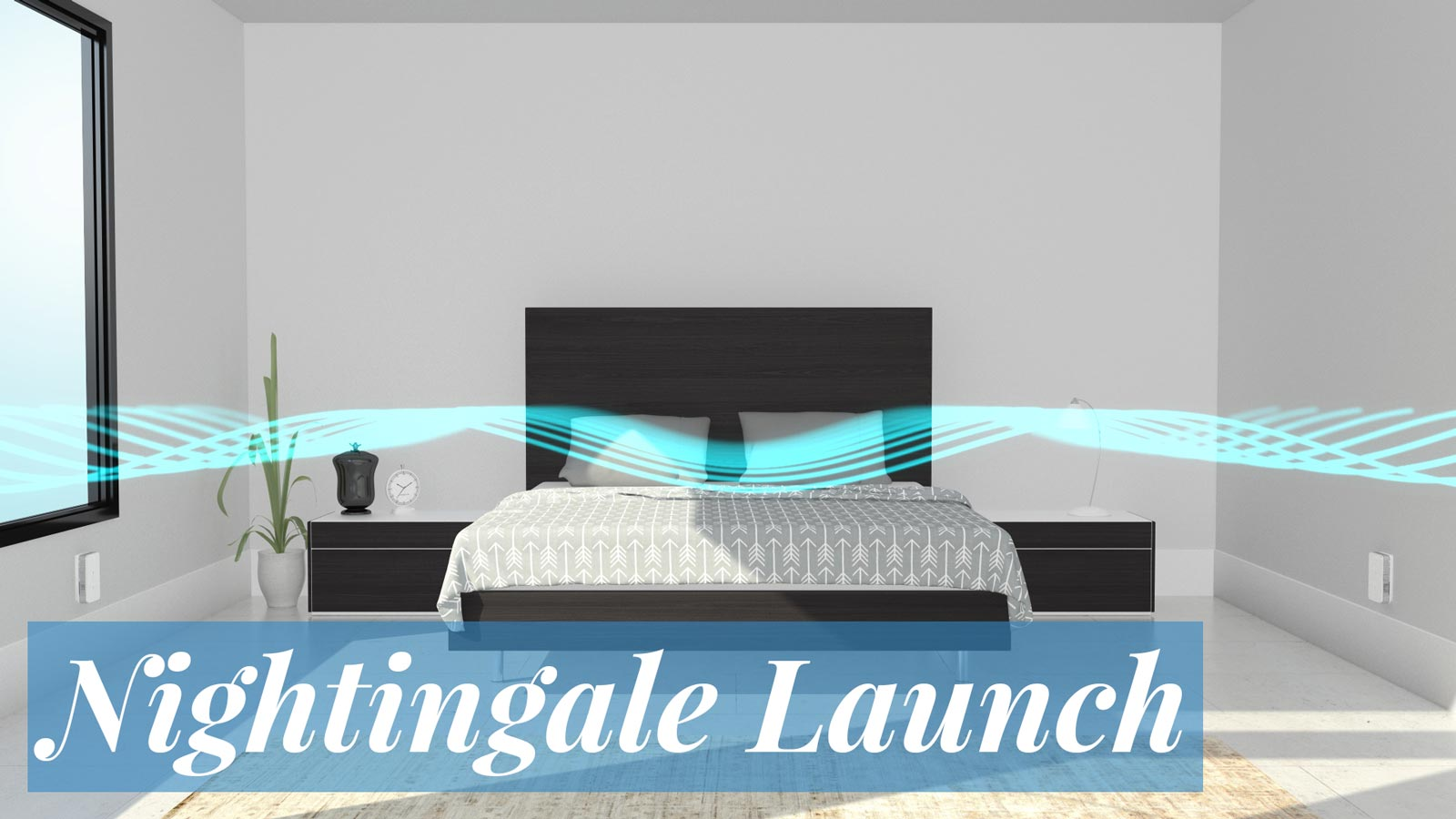 Cambridge Sound Management Nightingale product launch trade show graphics