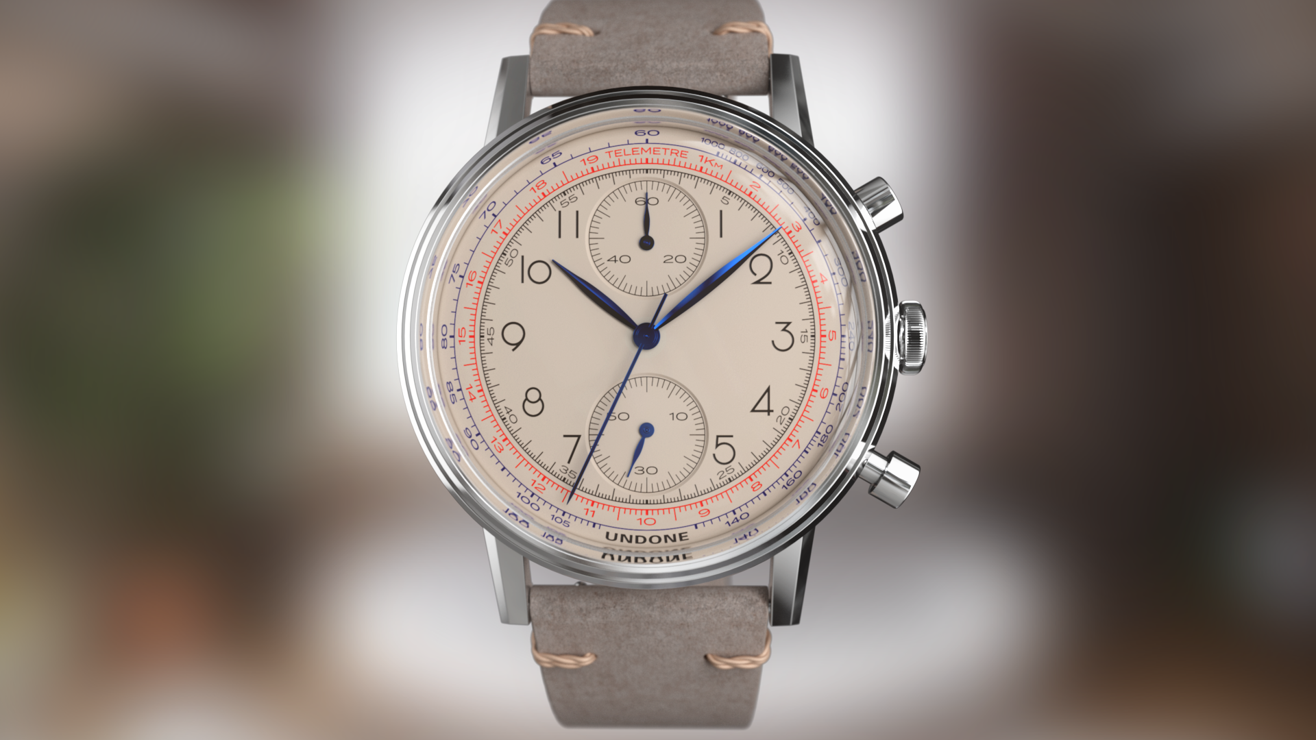 UNDONE urban vintage watch from photorealistic sizzle reel