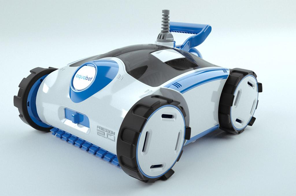 Aquabot product rendering