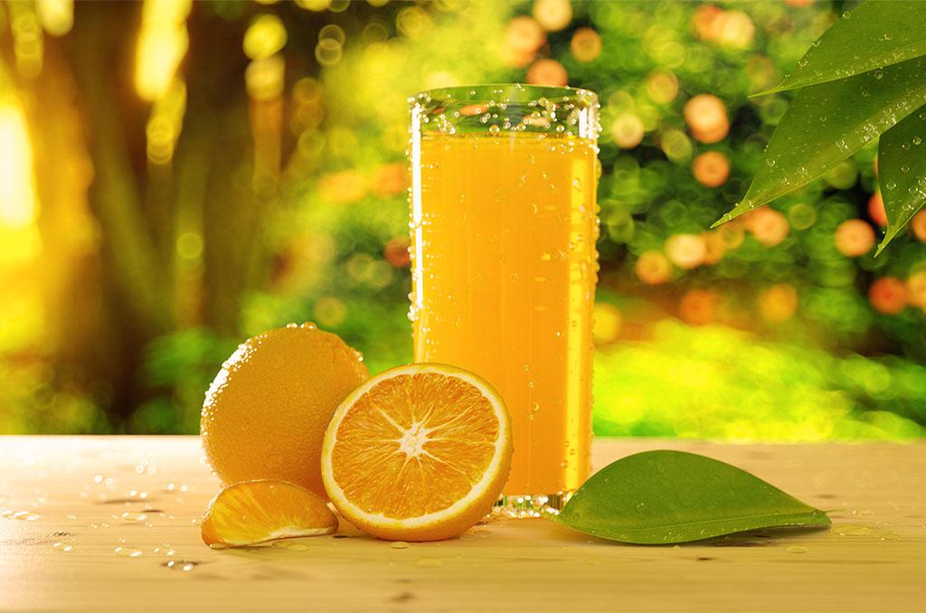Orange juice environmental