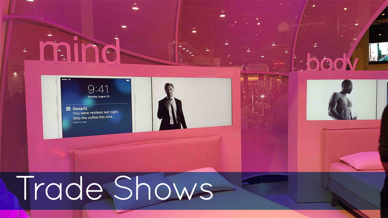 Trade Show Pink Case Study Image