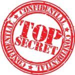 Top secret red stamp