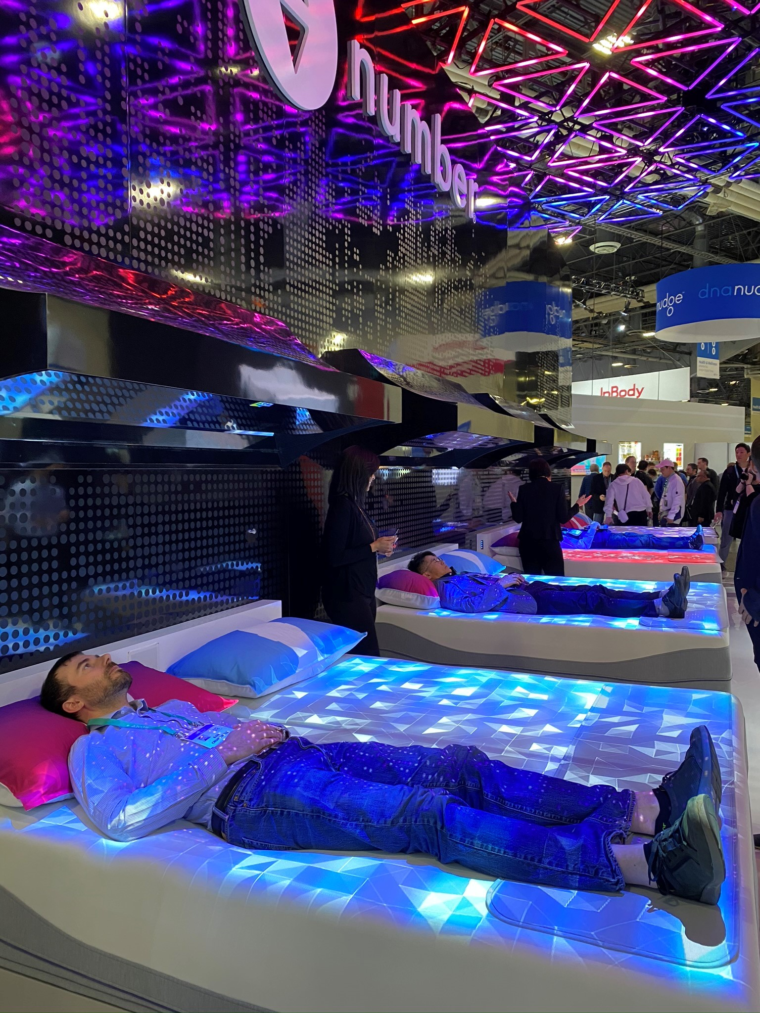 sleep number climate360 bed at CES
